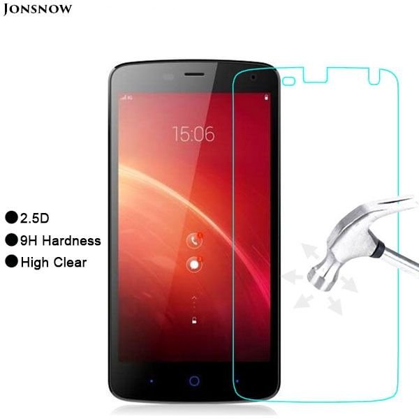 Customized Tempered Glass Film for ZTE Blade L370 9H 2.5D Front Explosion-proof LCD Screen Protector pelicula de vidro
