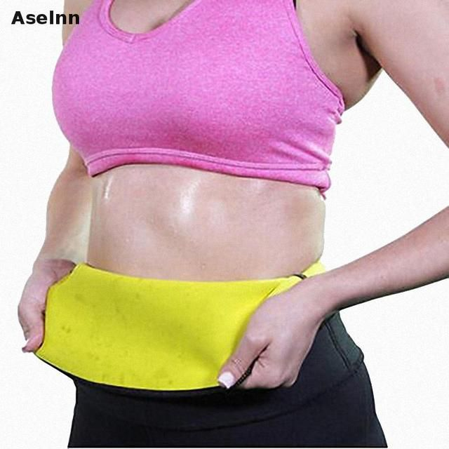 Aselnn 2017 Hot Neoprene Slimming Waist Belts Cinchers Body Shaper Slimming Waist Corsets Plus Size Bodysuit Women