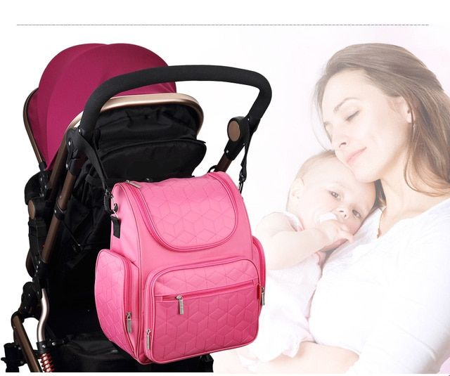 Fashion Mommy Diaper Bag Large Capacity Multi-functional Maternity Bag Pregnant Women Backpack Nursing Bag Baby Diaper Bag