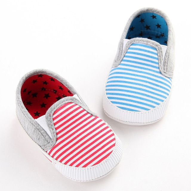 2017 Spring Autumn Fashion Baby Shoes Striped Antiskid first walkers Newborn Toddlers Shoes Good quality Baby Shoes