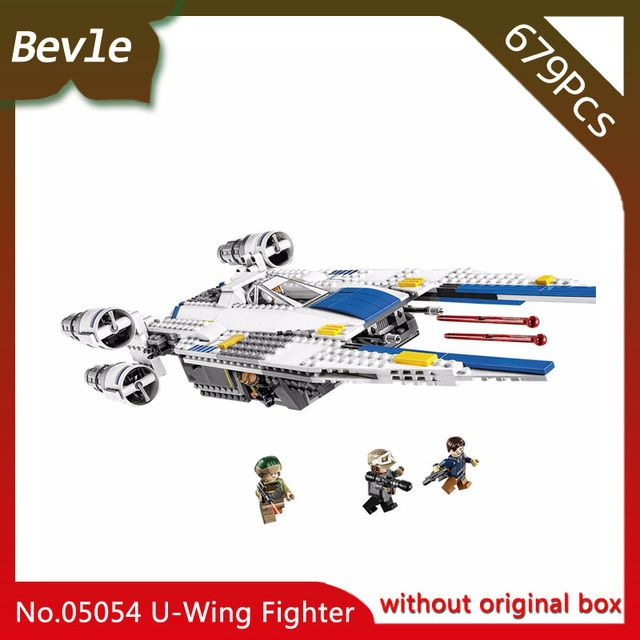 Lepin 05054 Genuine The U Model Wing Fighter Set Star Series War 679pcs Building Blocks Bricks Toys 75155   Doinbby Store