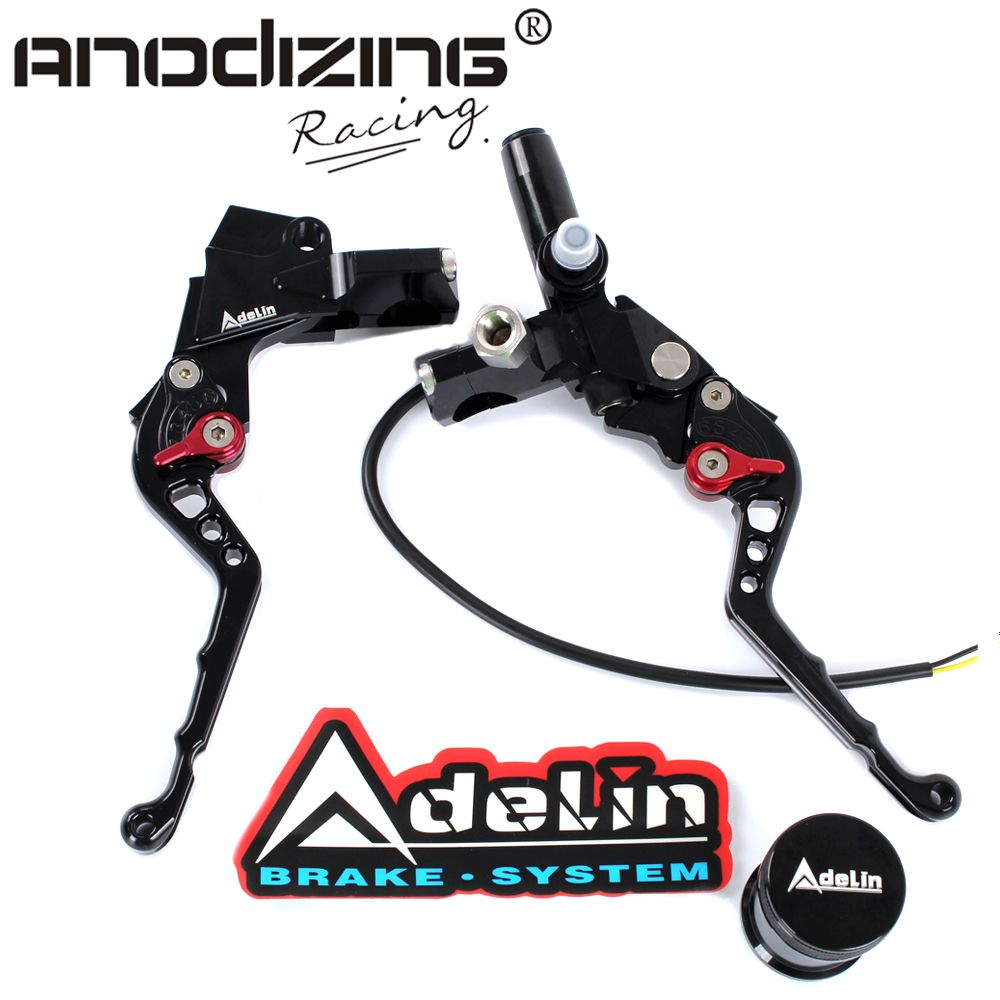 "7/8"" Adelin Front Brake  Hydraulic Master Cylinder Lever+ Clamp Clutch Master Cylinder Lever"