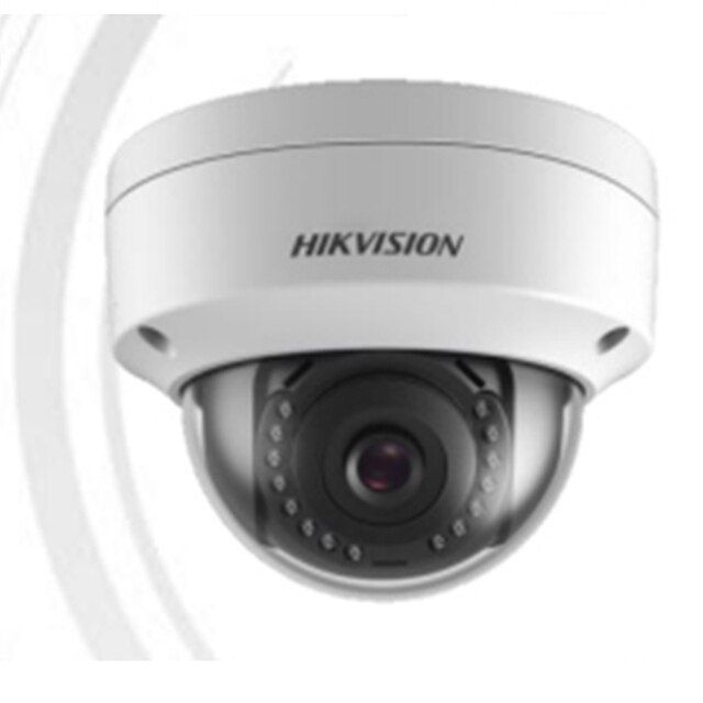 New IPC DS-2CD1121-I Hik 2MP dome IP camera IK10 IPC POE replace DS-2CD2125F-I H.264+ 30m IR non SD card CCTV security Camera