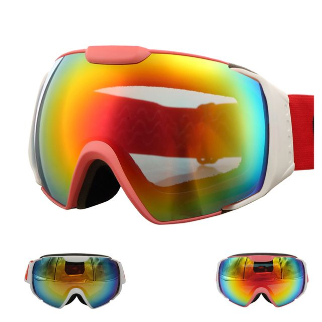 Can Be Worn To Myopia UV400 Ski Glasses Male and Female Winter Outdoor Sports Skiing Eyewear CR603