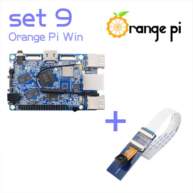 Orange Pi Win SET 9 Pi Win and Camera with wide-angle lens