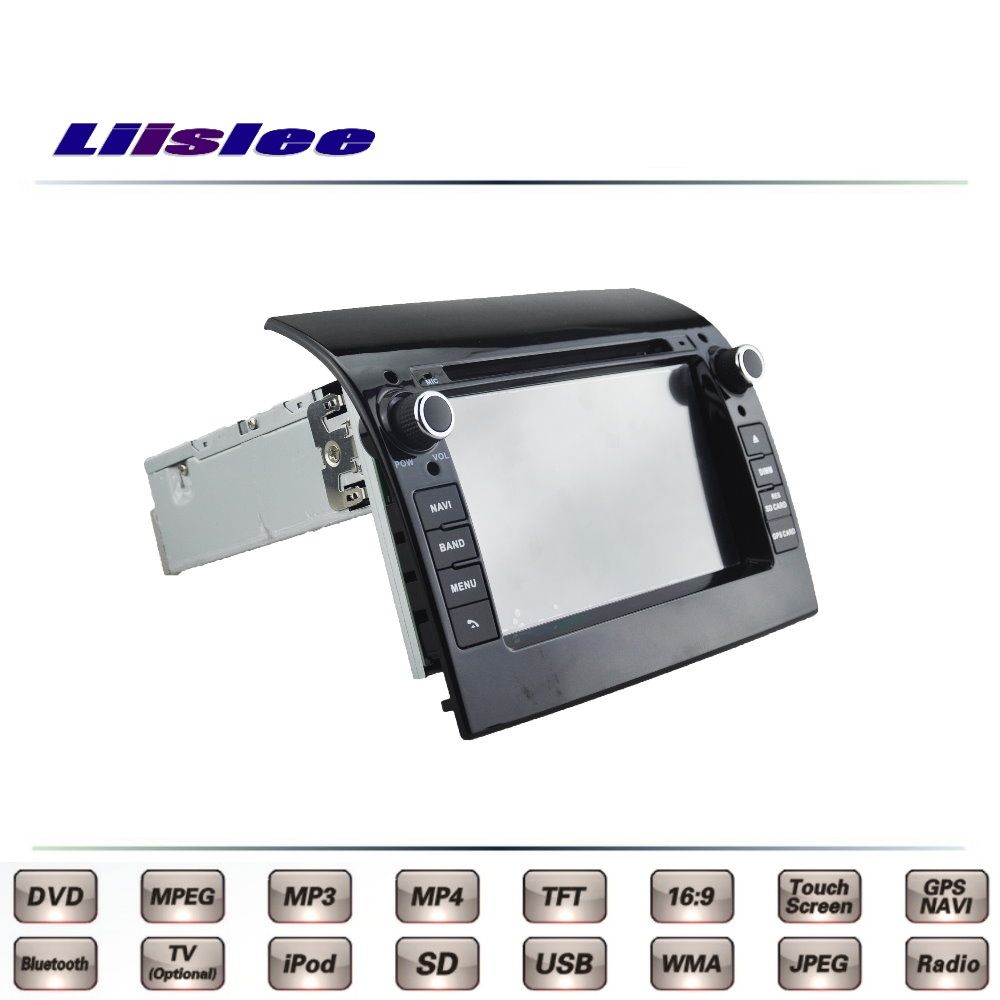 For Fiat Ducato 2006~2016 Car Multimedia TV DVD GPS Radio Original Style Navigation Liislee Advanced Navi