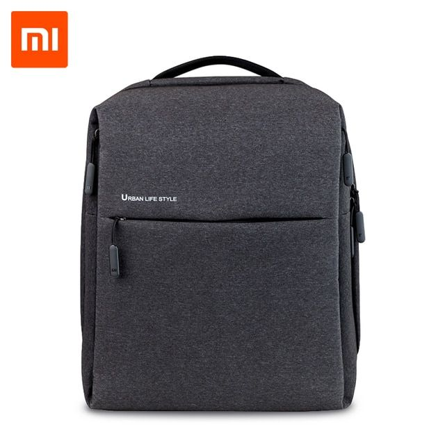 Xiaomi Backpack Mi Minimalist Urban Life Style Polyester Backpacks for School Business Travel Men's Bag Large Capacity