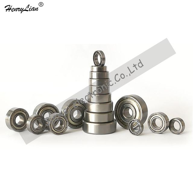 HENRYLIAN (JIEWEI) 10pcs Metal Sealed Shielded Miniature Mini Bearing FR8 FR8Z FR8ZZ 12.7*28.575*7.938 mm free shipping