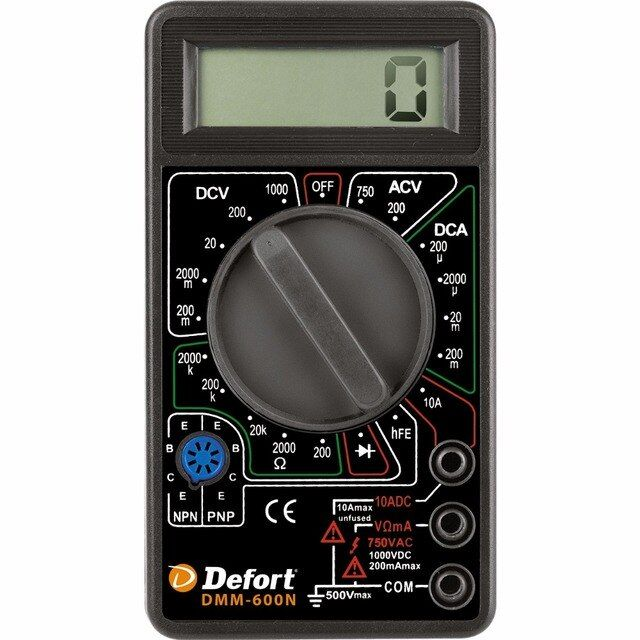 Multimeter Defort DMM-600N