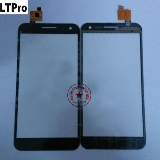 LTPro 100% Top Quality Black White TP Glass Panel Touch Screen Digitizer For ZOPO ZP999 3X Cell phone Sensor Replacement Parts