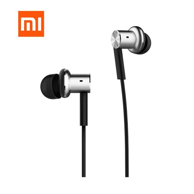 Original Xiaomi Hybrid Earphone QTER01JY with Mic Remote Headphones Headset for Xiaomi Phone ear Headphones