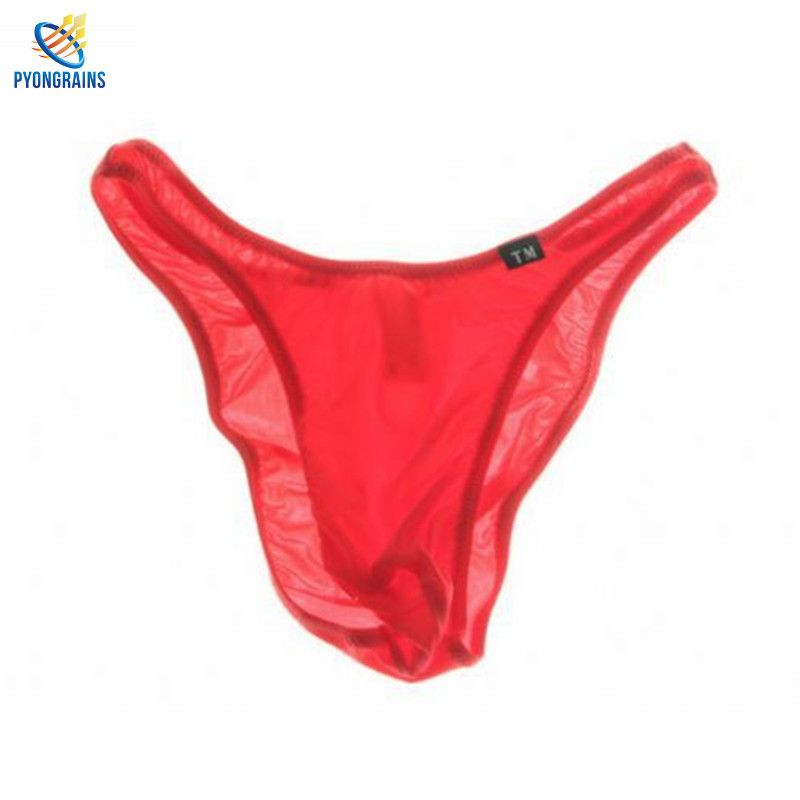 2016 Best Selling Popular Men Briefs Nylon Fascinating Elastic Underpants Sexy breathable Cueca comfortable Men underwear Bikini