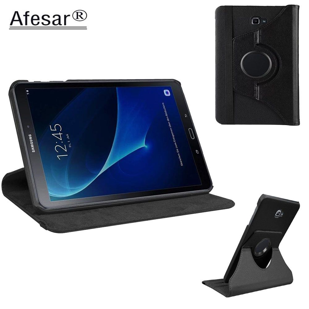 Tab A A6 10.1 SM T580 T585 T587 360 Rotating Case Cover - ForSamsung Galaxy Tab A 10.1 2016 Tablet multi angel stand cover case