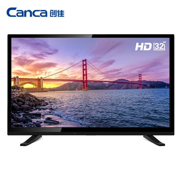 Free Shipping Canca 32inches Smart TV Multi-Interface Monitor  Narrow Online education Simple Operation