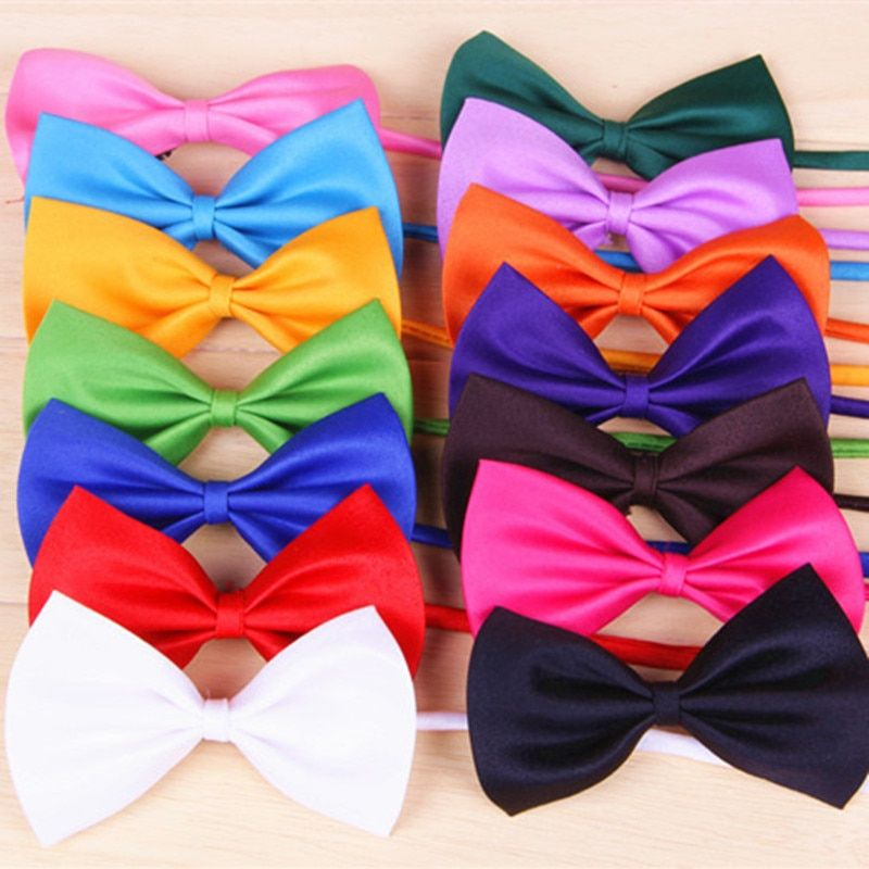 Adjustable Pet  Dog Bow Tie Cat  Necktie Cheap Wholesale Cute Children Tie Dog Clothing  Accessories