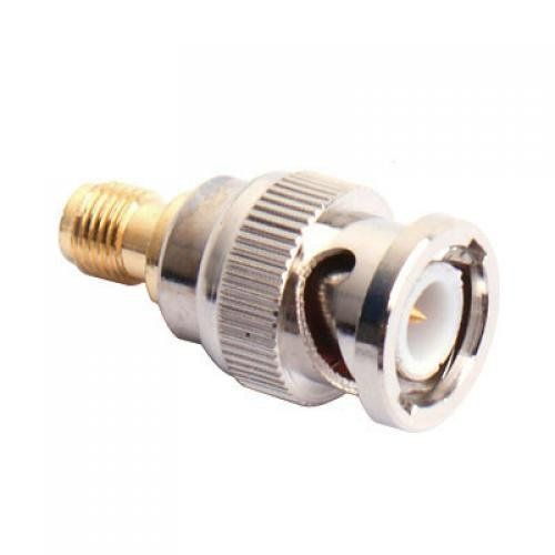 10x New BNC Male to SMA Female Plug Coax Adapter
