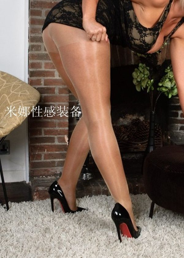 15D Sexy Women Transparent Oil Shiny Glossy Stockings Sheer Sexy Glossy Stocking Women's Oil Shiny Pantyhose Tight FX12