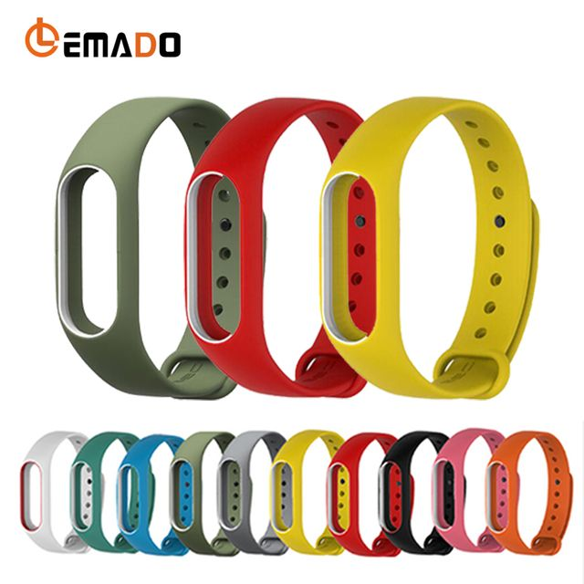 Lemado New popular changeable wrist strap for XIAOMI MI Band 2 high quality and environmental wristband for MI Band 2