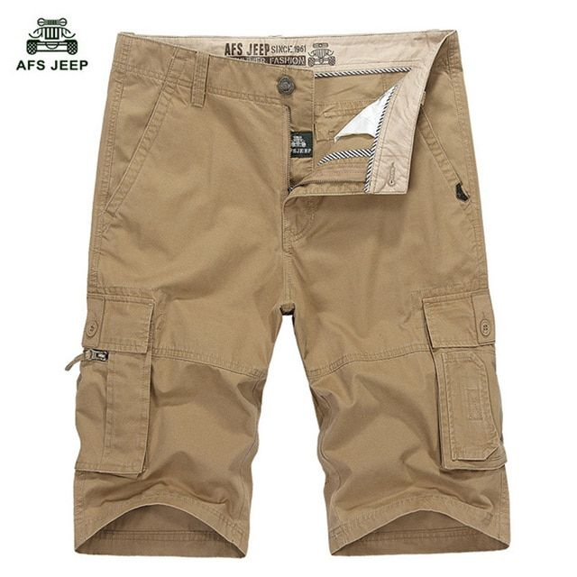 2018 Summer New Arrival AFS Jeep Men's Speed Dry Pants  Leisure Casual Cotton Plus Size 30-44 WN 82.5