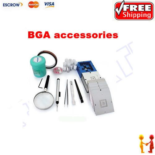 The Latest 184pcs 80x80mm BGA Stencil Full Kit  For Laptop + Desktop + RAM + XBOX/PS3/WII GPU CPU