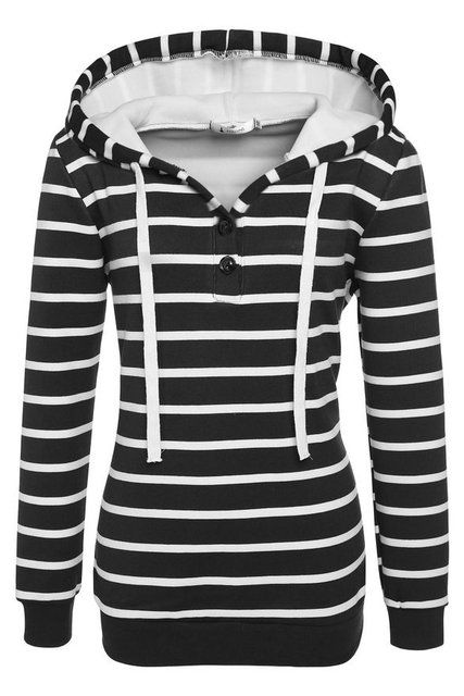 2016 new autumn and winter women's fashion solid color stripes Slim thin plus thick velvet hooded sweater S-XXL Black/White/Blue