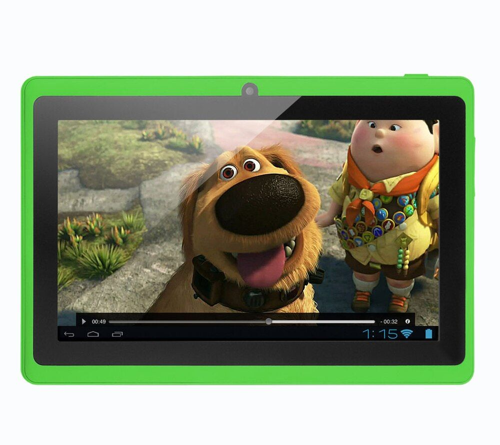 BDF Low Price 7 Inch Tablet PC Android System Google Quad Core 8GB WiFi Kids Gift Children's Toys Tablet PC