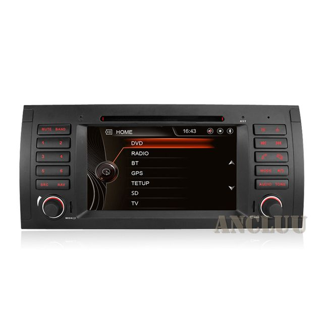 7 Inch Capacitive Touch Screen Car DVD Player For BMW E39 X5 M5 E38 E53 Canbus Radio GPS Navigation Bluetooth 3G free Map