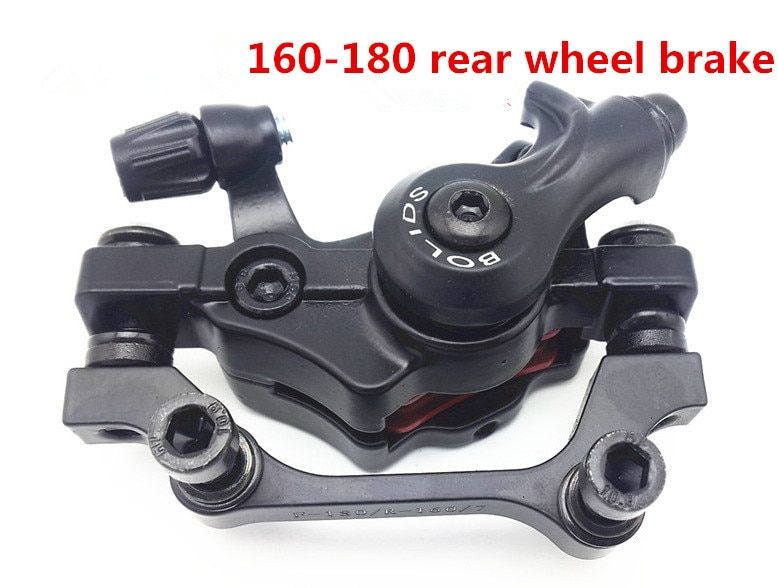 Bicycle disc brake device BOLIDS bicycle parts mechanical R - 160 / F - 180 rear disc brake device