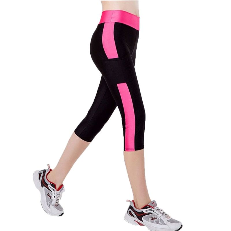 2017 Autumn Women's Leggings Fitness High Waist Elastic Women Leggings Pocket Legging Pants WLG016