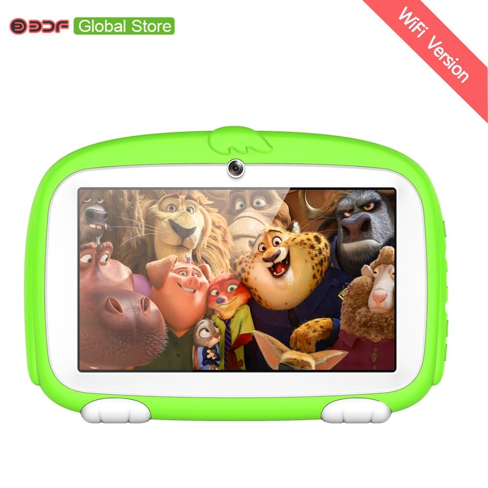 7 inch  Children's Tablet PC Edition Tablet PC Google unlocked Android 4.4 8GB WiFi Tablet PC kids Gift Tablet Pc Baby tab