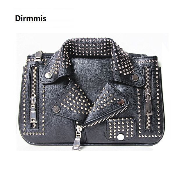 2018 women bags Designer clutch fashion rivet motorcycle shoulder bag new summer fashion handbag chain Crossbody casual Bag Hot