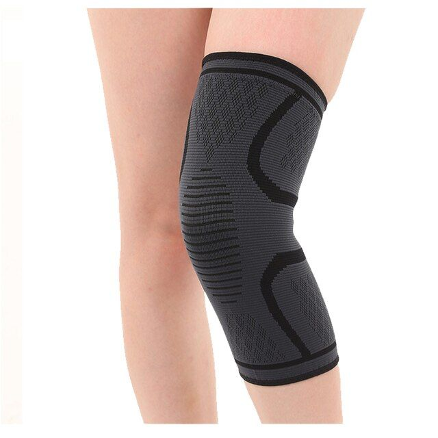 Elastic Sports Leg Knee Support Brace Wrap Protector Knee Pads Protector Safety Kneepad Sleeve Cap Patella Guard Volleyball Knee