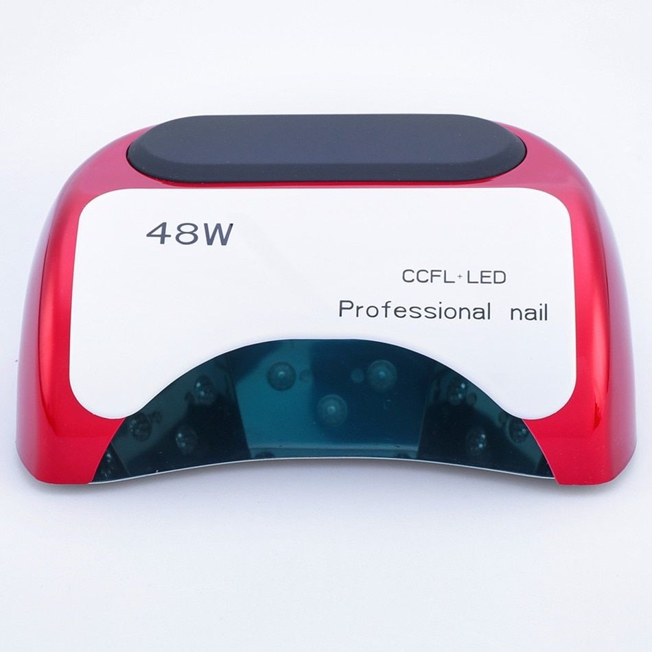 2018 Special Offer Professional 48 W Uv Lamp Nail Dryer For Gel Polish Curing Led Dryers With Lcd Art Automatic Sensor Tools