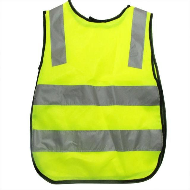 Hot Fashion Polyester Fabric Safety Vest Kids Reflective Safety Vest Student Hi Viz Safety Vest Size Reflective Work Cloth