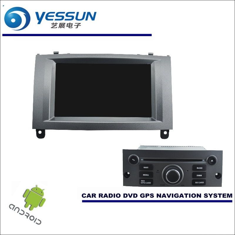YESSUN Car Android Navigation System For Peugeot 407 2004~2010 - Radio Stereo CD DVD Player GPS Navi BT HD Screen Multimedia