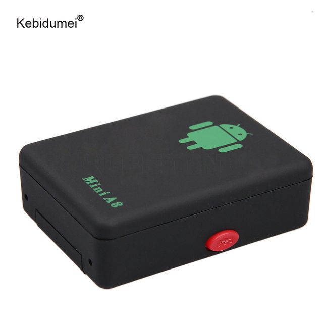 Kebidumei Mini A8  Tracker GSM LBS Tracker Global Time GSM/GPRS/LBS Tracking Device With SOS Button For Cars Kids Elder Pets