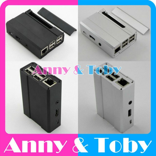 1pcs Aluminum Case Metal Case for Raspberry PI 3 B model B Raspberry PI 2 B Metal Box Aluminum Box Cover Shell Enclosure Housing