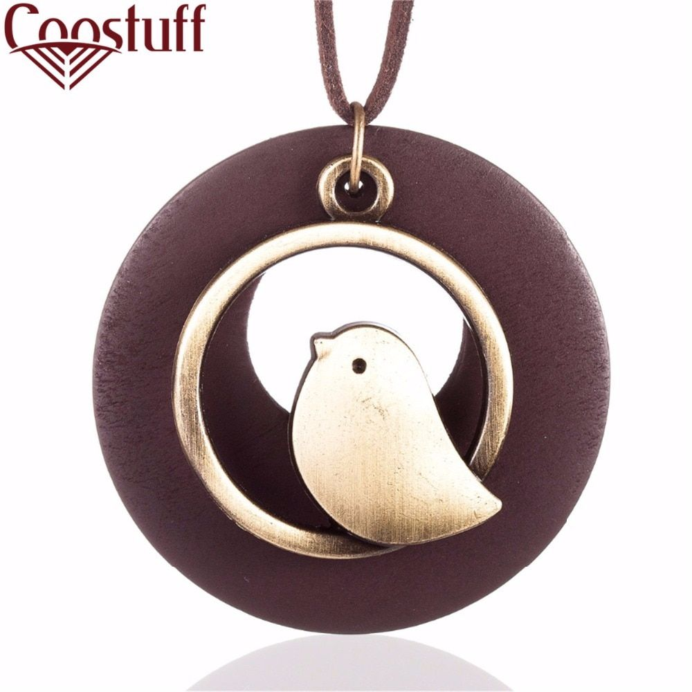 Bird Suspension Jewelry Decoration Accessories Bijouterie Chain Choker Gifts Female Pendants for Neck Women Necklace to mom