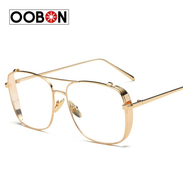 2017 New Luxury Women Brand Glasses Frame Vintage Oversize Clear Lens Glasses Men Eyeglasses Frames Acetate Spectacles