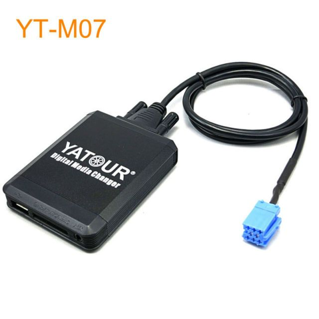 Yatour Car MP3 USB SD CD Changer for iPod AUX with Optional Bluetooth for Fiat Marea Brava Bravo from 1995