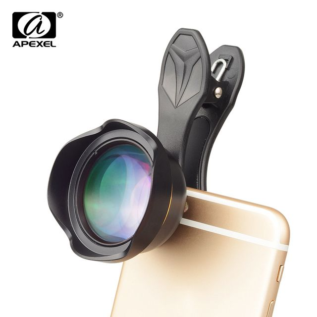 APEXEL Lens 3X Telephoto Lens HD Cell Phone Camera Lens 3X AS Close Telescope Lens for IOS Android and more Smartphones 65mm