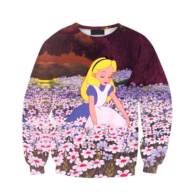 Sailor Moon New Fashion Autumn Princess Serenity Crewneck Sweatshirt 3D Print Women/Men Pullover Hoodie Long Shirt Crewneck