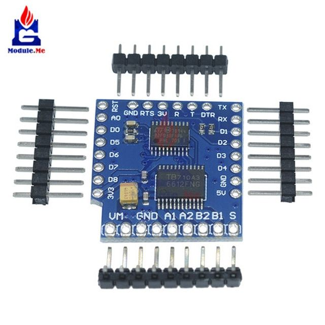 1Set Motor Shield For WeMos D1 Mini TB6612FNG Wemos I2C Dual Motor Driver Shield Driving Module With Serial Pot