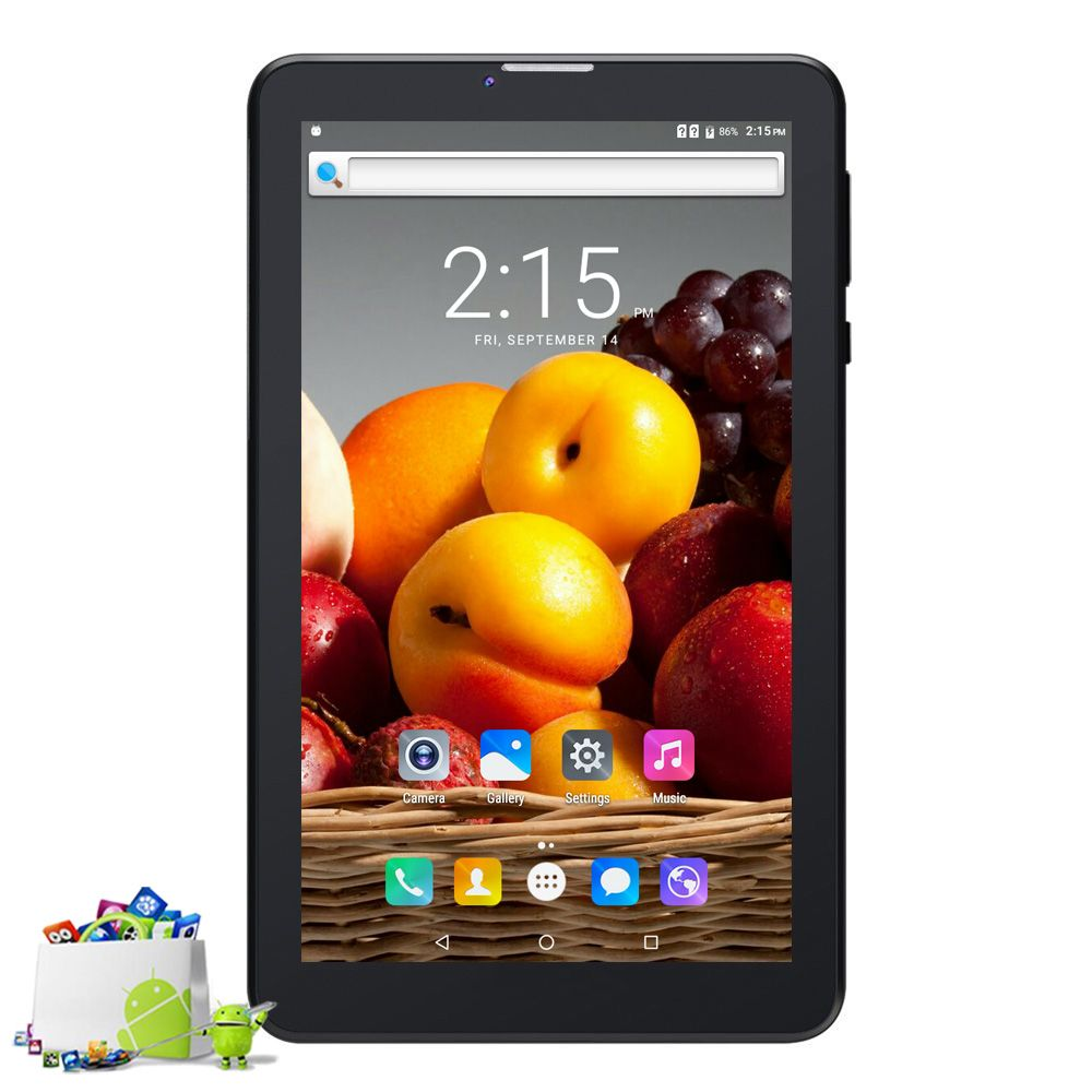 Cheap and Simple 3G Phone Call Quad Core IPS LCD Android 6.0 Tablets pc Bluetooth 8GB Mini Pad SIM Card 7 Inch Tab