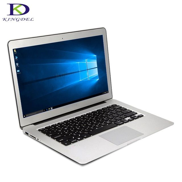 High speed Windows 10 laptop Core i5 5th Generation CPU 13.3 inch Ultrabook 8GB RAM 256GB SSD Webcam Wifi Bluetooth