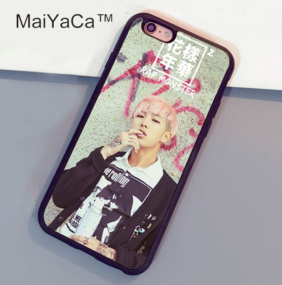 MaiYaCa BTS Bangtan Boys Rap Monsters Phone Case For Fundas iphone 6 6s case For Coque iphone 6 6s Fitted Case Back Cover