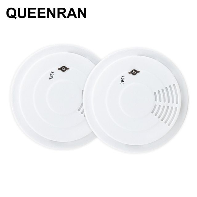 Wireless/Standalone Smoke Detector Sensor Portable Fire Protection Alarm Sensors For 433MHz Home Security Alarm Systems