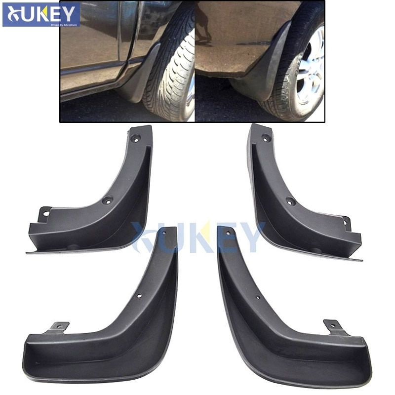 4pcs Fit For Kia Sportage w/o Cladding 2004 2005 2006 2007 2008 2009 2010 Mud Flap Flaps Splash Guards Mudguard Accessories