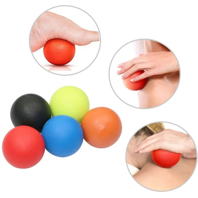 Gym Crossfit Fitness Massage Lacrosse Ball Therapy Trigger Full Body Exercise Sports Yoga Balls Relax Relieve Fatigue Tools