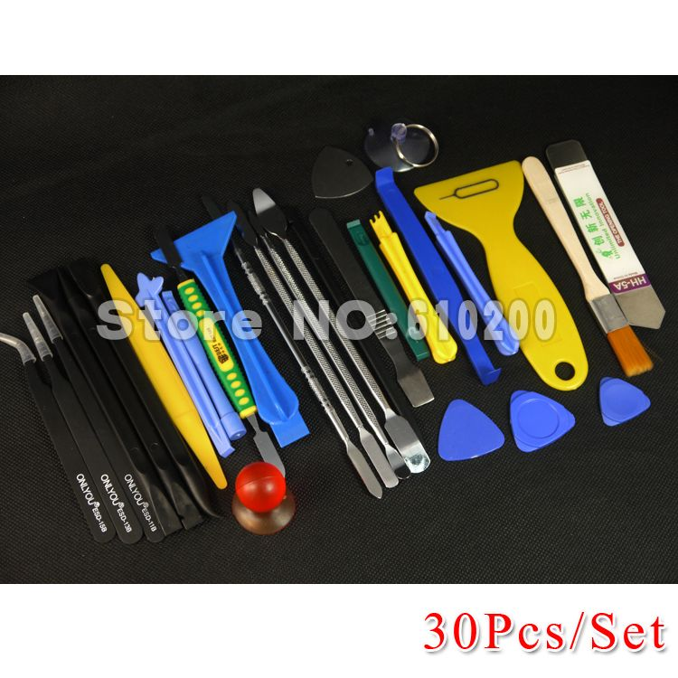 30 in1 ALL Opening Repair Tools Phone Disassemble Tools Set Kit For HTC Tablet PC For iPhone professional electronic repair tool
